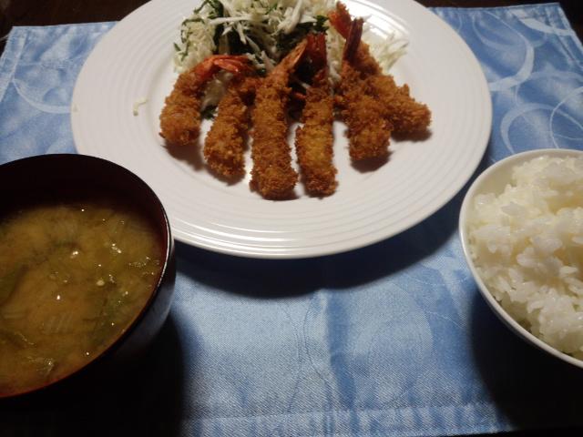今日の晩ご飯は、